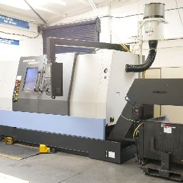 Doosan Model 400MB (2012) Heavy Duty Turning Centre/CNC Lathe. With Fanuc Series 32i Control.