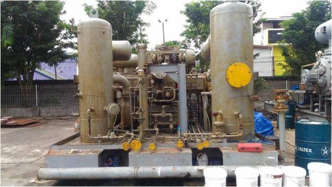 UNIDAD DE PAQUETE DE COMPRESIÓN DE GAS NATURAL MONTADA EN PATÍN # 311217