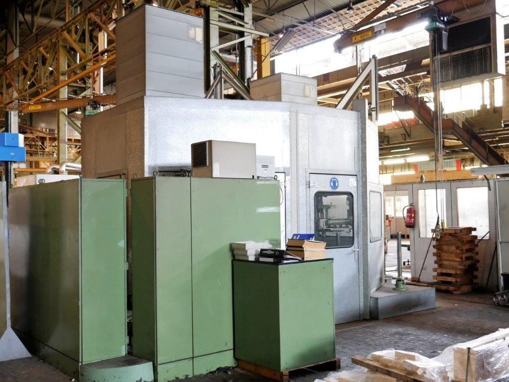 CNC-Stanzpresse Modell N8-A630-6D von Schuler Pressen mit Steuerung WS400-20 von Siemens und automat