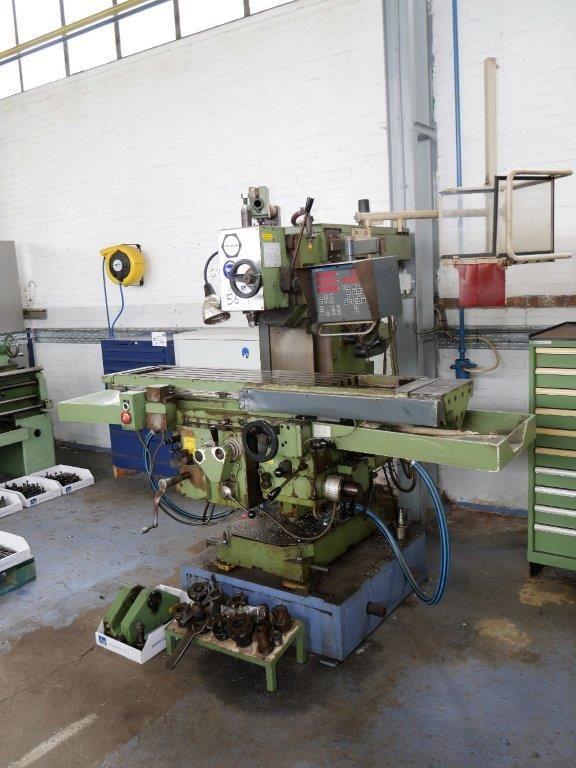 Fritz Werner Vertikalfräsmaschine
