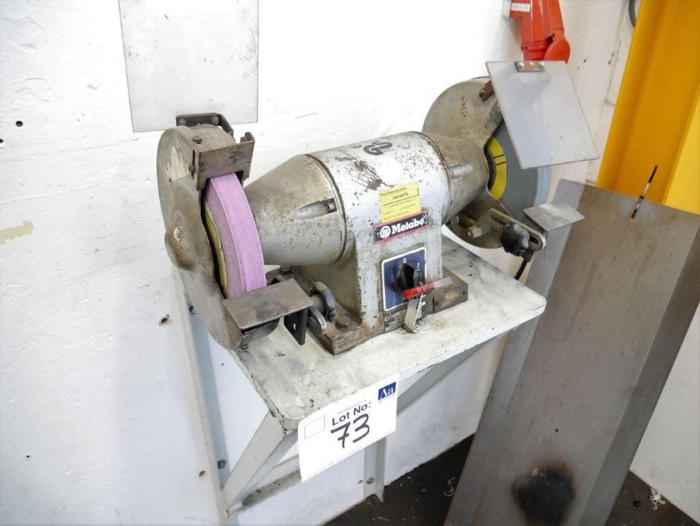 Metabo Wand-Doppelschleifmaschine Typ 7226