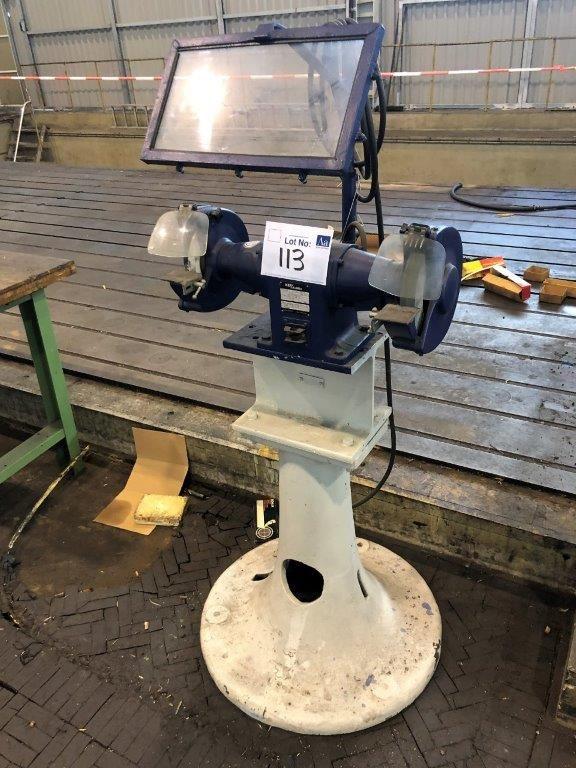 Kef / Aldell Doppelschleifmaschine Typ PSD 200
