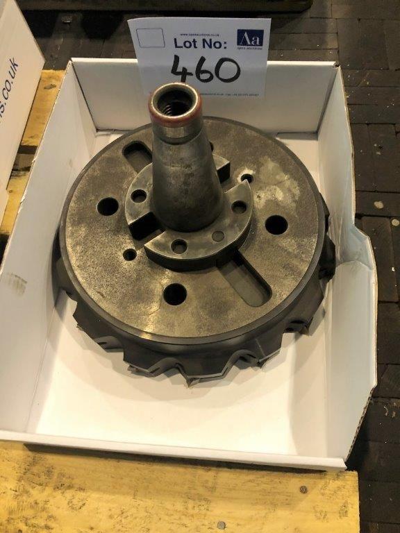 ISO 50 Werkzeughalter mit ca. Ø 300 mm Planfräser