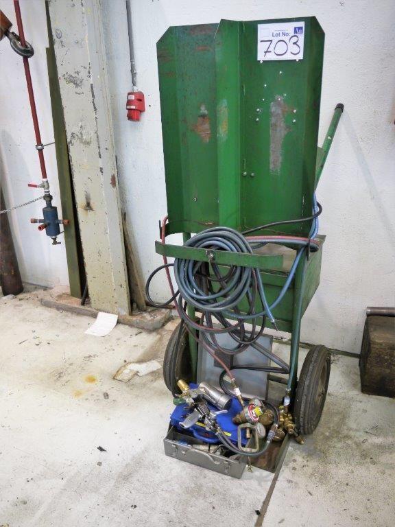 Mobile Pulverbeschichtungsanlage von Metco