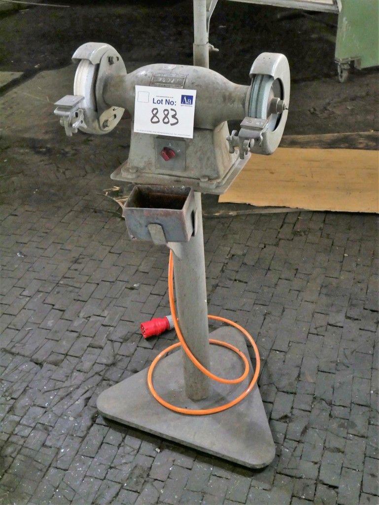 Flott Double End Säulenschleifmaschine. Typ TS 200