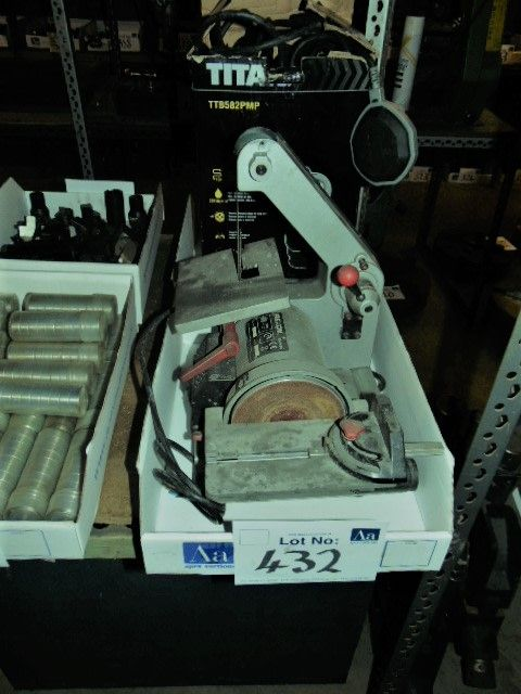 Rexon Typ BD150BQ Bank Typ Kombinierter 1 Zoll breiter Vertikalschleifer / 120 mm Durchmesser Scheib