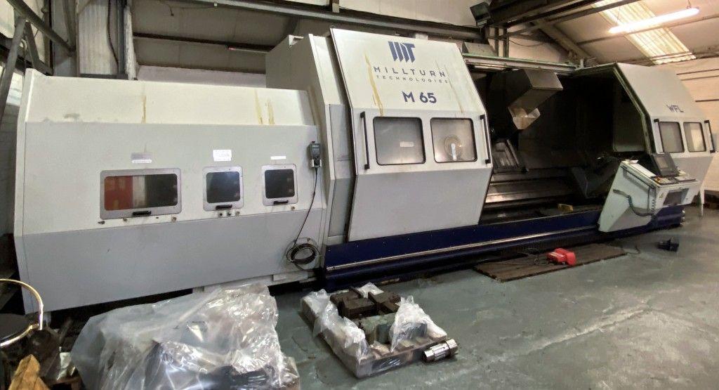 WFL Millturn M65 X 3000MM 5-Achsen-CNC-Drehen & amp; Fräsmaschine (2003)