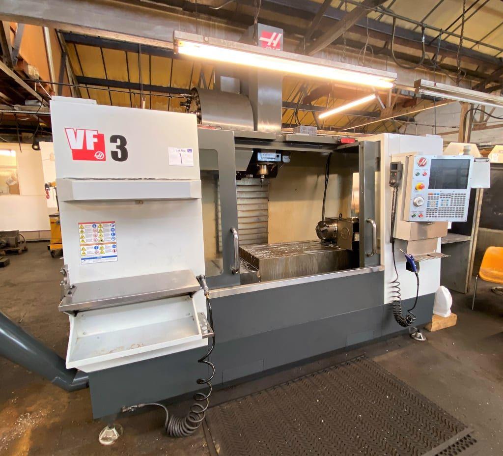 Haas VF3, 3 Axis Vertical Machining Centre. (2014)