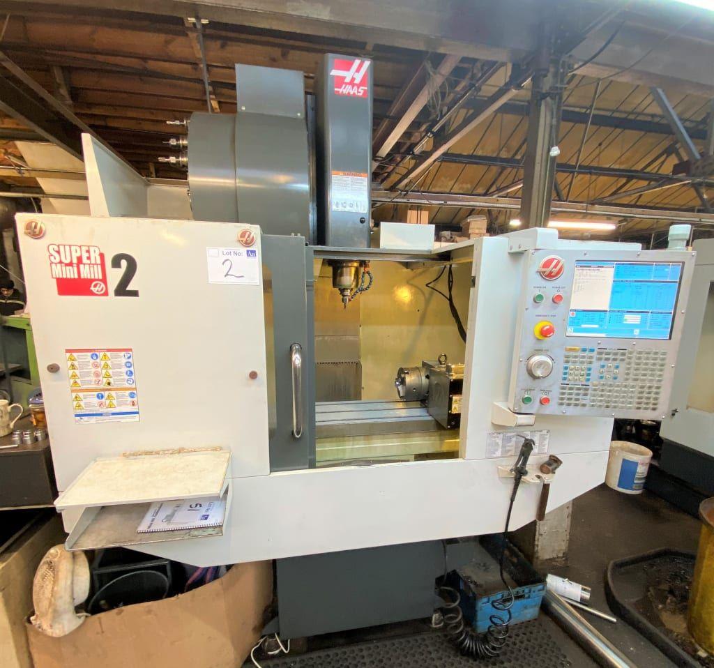 Haas Super Mini Mill 2, 3 Axis Vertical Machining Centre. (2014)