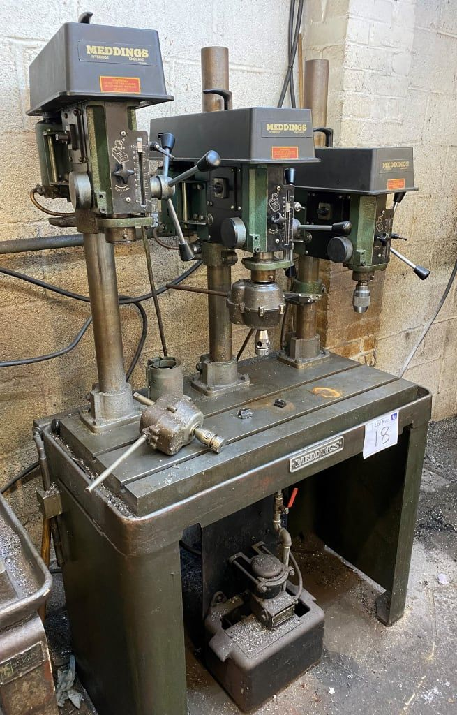 Meddings Triple Bank Bench Drill.