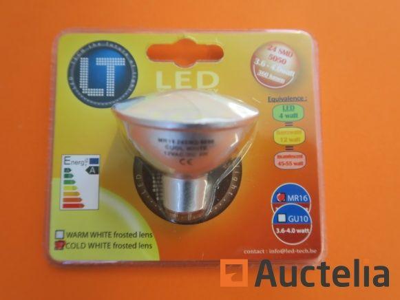 225 LED-Lampen - TECH MR16 24 SMD 3,6-4,0 Watt 360 Lumen