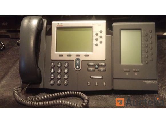 CISCO 7962 + IP-Telefon mit Nebenstelle 7915