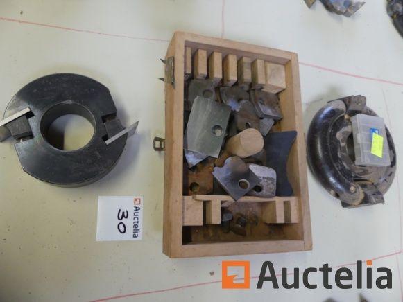 Multi-Gefälle-Werkzeughalter, Profil-Werkzeughalter