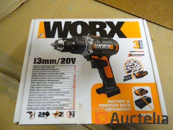 Worx Lithium-Ionen-Akku-Schlagbohrmaschine