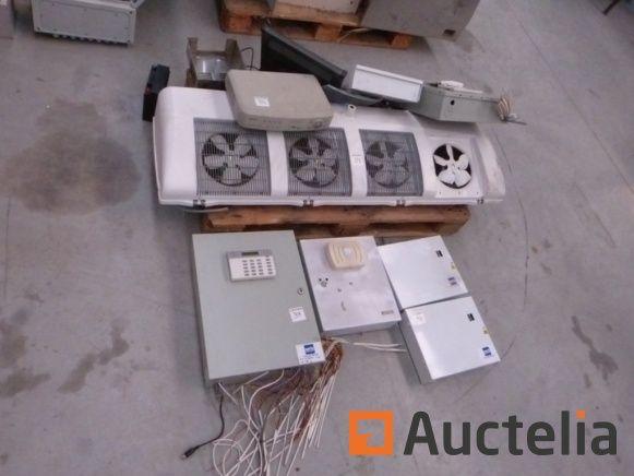 Schaltschrank und Komponenten elektrisch