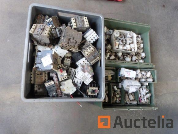 Ausrüstung elektrisch Osram, Telemecanique, ... - REF: 1095-035