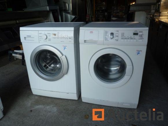 2 Waschmaschinen AEG und Siemens (zu überholen), Evakuierungstrockner Hansa