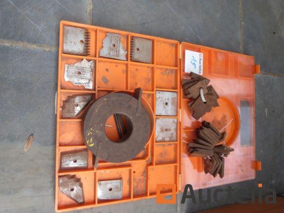 Omas Werkzeughalter und Profilmesser