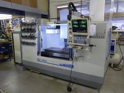 Bearbeitung von Metallhaas - Mikron VCE 1000
