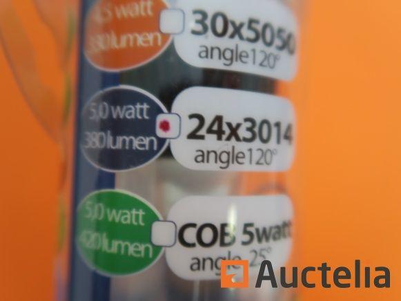 400 LEDs-TECH MR16 Birnen 3Watt GU5.3 12 Volt warmweiß 2800 Kevin 1900 lm
