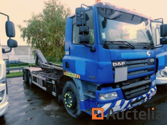 DAF CF 85.380 Container Truck (2003) - Matis: 5664