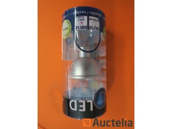600 LED-TECH-Lampen MR16 GU5.3 12 Volt 60 smd 3,2 Watt Winkel 120 °