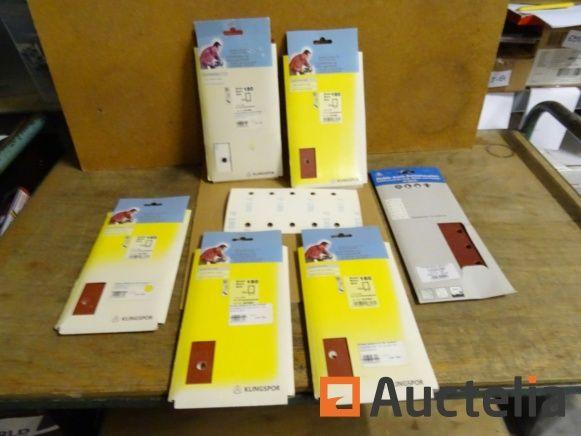 60 Klettpapier für vibrierenden Bandschleifer