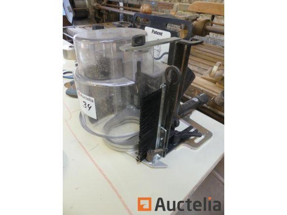 Schutzschablone zum Verlegen der Teilekurve