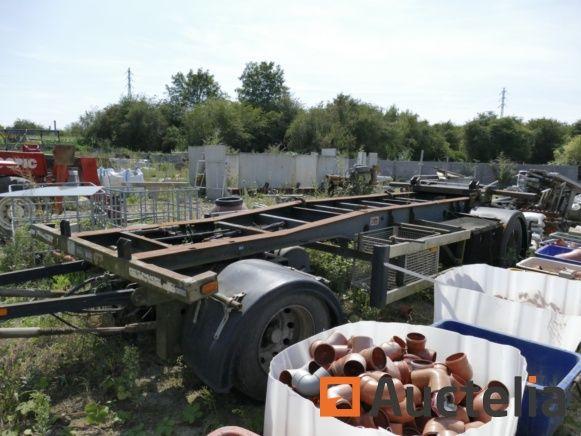 Anhänger Containerhalter AJK