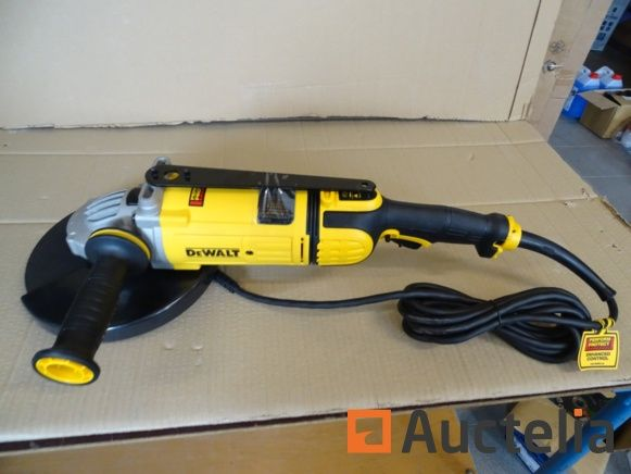 Schleifer Dewalt 230 mm DWE4579, Stahlschleifscheibe Edelstahl