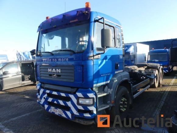 Containerfahrzeug MAN 28.363 (2004) überholt-Matis: 7060