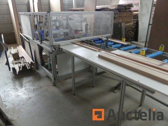 Sondermaschine für Türleistenrillen Vanhuyse Johan