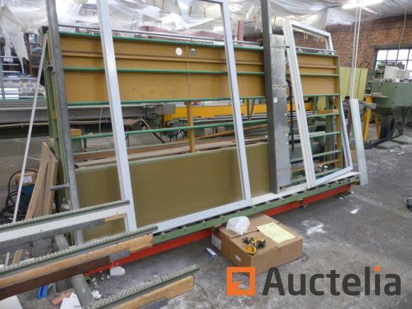Pneumatischer Viting-Rahmen für PVC CALVET KVH3000