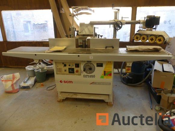 Tischfräsmaschine SCM und Co-Matic Trainer