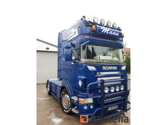 SCANIA R500 V8 HYDRAULIC EURO5