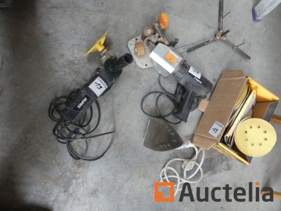 Rupes Rotationsbandschleifer, Legna Portable Edgebander