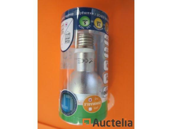 500 LED-TECH Birnen R63 / 3014 E14 weiß 1.3-1.8w