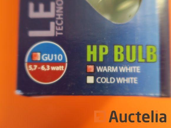 210 LED-TECH GU10 Glühlampen 5,7-6,3 W warmweiß dimmbar