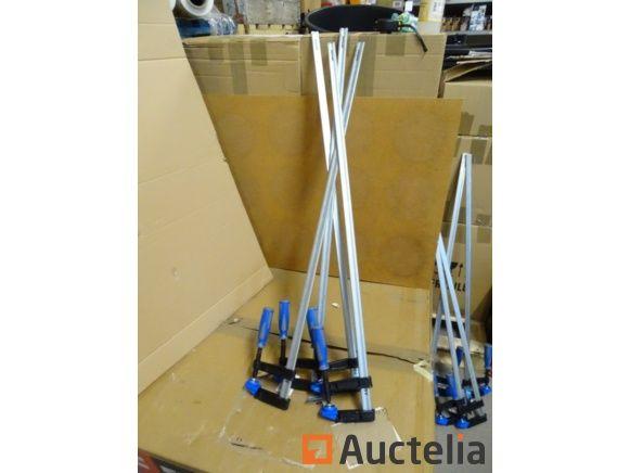 4 Dichtungen Klemme 90 cm nützlich, Backe 100 mm