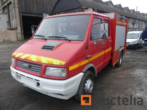 Feuerwehr LKW Iveco C59 800 E (1996-25106 km)