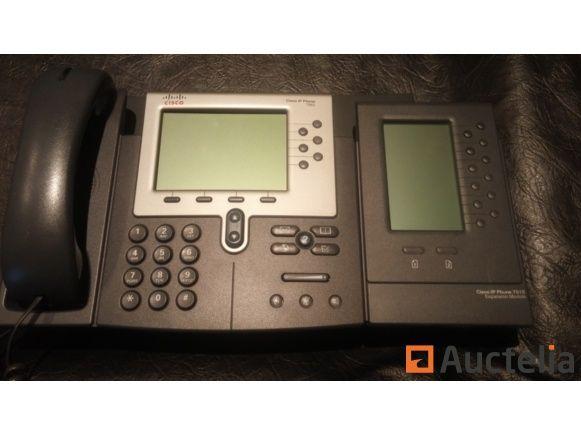 CISCO 7962 + Nebenstelle 7915 IP-Telefon