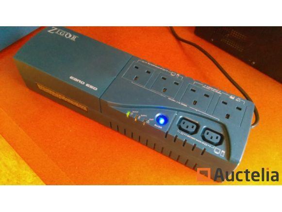 USV EBRO 650VA / 360W (Notstrom) - neue erneuerte Batterie