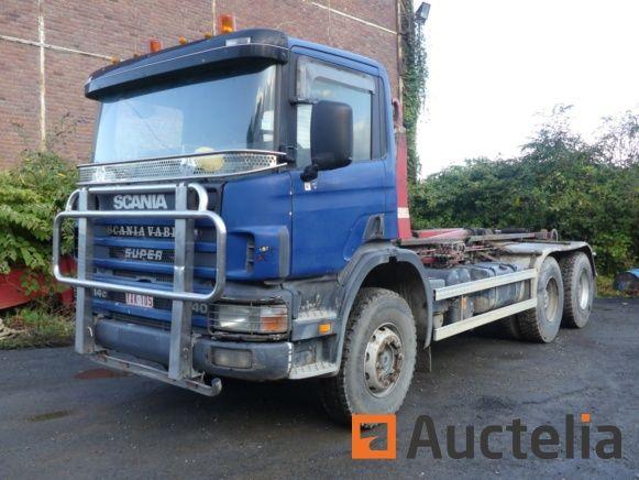 Containerfahrzeug Scania 114 C 340 (2004-451196 km)