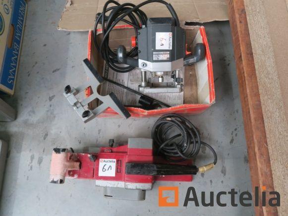 Router Holzer 2356, Mafell Hobel