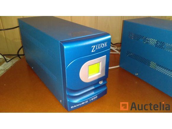 USV DANUBIO 1600VA / 960W - Neu = erneuerte Batterien