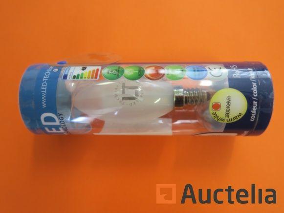 490 LED-TECH SMD-Lampen E14 1,9 Watt 120 Lumen Winkel320 °