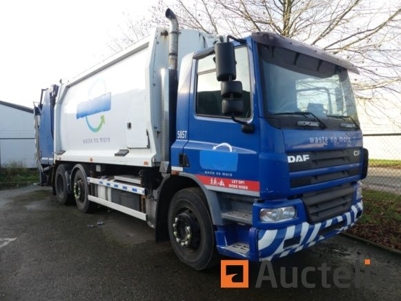 Müllwagen DAF GEC2510 (2005) - Matis 5857