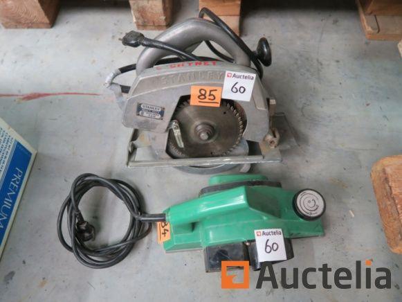 Stanley H85C Kreissäge, Elektrohobel