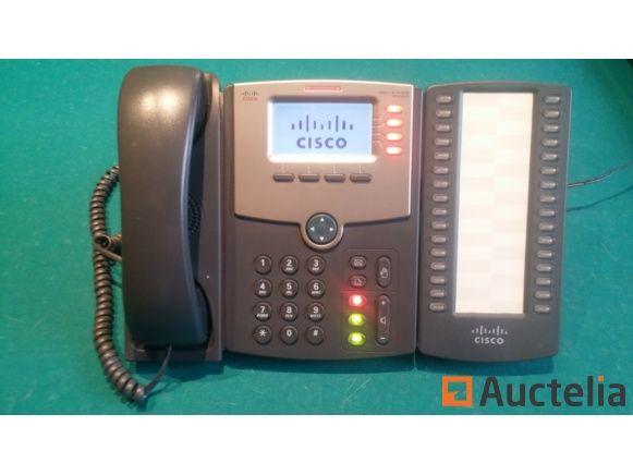 Cisco SPA 504G + Erweiterung SPA 500S IP-Telefon
