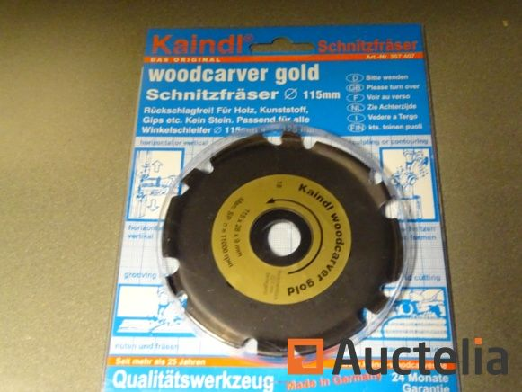 HOLZ Schnitzscheibe WOODCARVER GOLD